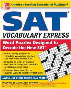SAT Vocabulary Express - Jacqueline Byrne,Michael Ashley - cover
