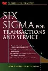 Six SIgma for Transactions and Service - Parveen S. Goel,Praveen Gupta - cover