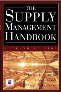 The Supply Mangement Handbook, 7th Ed - Joseph L. Cavinato - cover