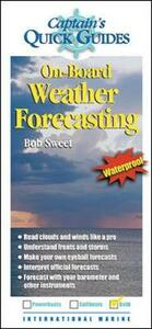 On-Board Weather Forecasting - Robert Sweet - cover