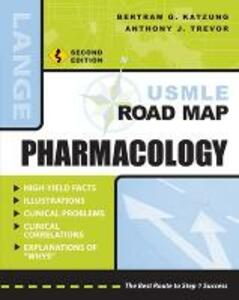 USMLE Road Map Pharmacology, Second Edition - Bertram G. Katzung - cover