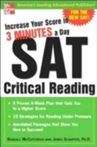 Ebook in inglese Increase Your Score in 3 Minutes a Day: SAT Essay McCutcheon, Randall , Schaffer, James