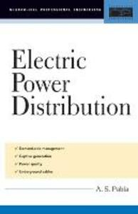 Electric Power Distribution - A. S. Pabla - cover