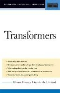 Transformers: Design, Manufacturing, and Materials - Bharat Heavy Electricals Limited - cover