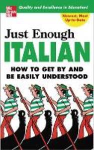 Just Enough Italian - D. L. Ellis - cover