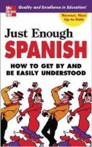 Just Enough Spanish - D. L. Ellis - cover