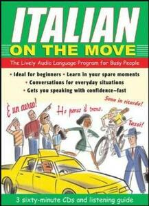 Italian on the Move: The Lively Audio Language Program for Busy People - Jane Wightwick - cover