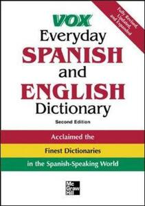 Vox Everyday Spanish and English Dictionary - Vox - cover