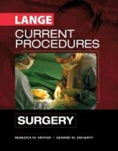 Lange current procedures: surgery - Rebecca M. Minter,Gerard M. Doherty - copertina