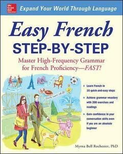 Easy French Step-by-Step - Myrna Bell Rochester - cover