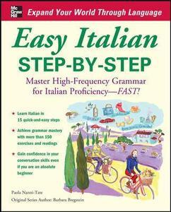 Easy Italian Step-by-Step - Paola Nanni-Tate - cover