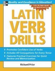 Latin Verb Drills - Richard Prior - cover