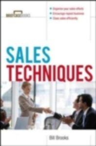 Foto Cover di Sales Techniques, Ebook inglese di William Brooks, edito da McGraw-Hill Education