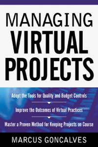 Ebook in inglese Managing Virtual Projects Goncalves, Marcus