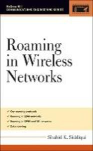 Roaming in Wireless Networks - Shahid Siddiqui - cover