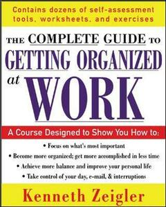 Getting Organized at Work - Kenneth Zeigler - cover