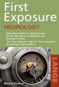 First Exposure to Neurology - Howard S. Kirshner - cover