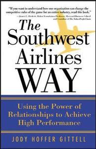 The Southwest Airlines Way - Jody Hoffer Gittell - cover