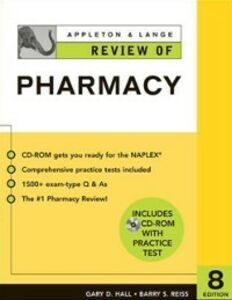 Foto Cover di Appleton & Lange Review of Pharmacy (Book), Ebook inglese di Gary Hall,Barry Reiss, edito da McGraw-Hill Education