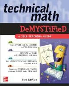 Technical Math Demystified - Stan Gibilisco - cover