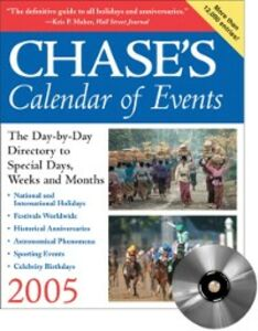 Ebook in inglese Chase's Calendar of Events 2005 Chase's, Editors of