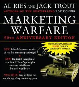 Marketing Warfare: 20th Anniversary Edition - Al Ries,Jack Trout - cover