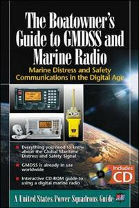 The Boatowner's Guide to GMDSS and Marine Radio: Marine Distress and Safety Communications in the Digital Age - The United States Power Squadrons - cover