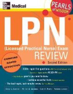 LPN (Licensed Practical Nurse) Exam Review: Pearls of Wisdom - Sheryl L. Gossman,William G. Gossman,Scott H. Plantz - cover