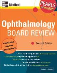 Ophthalmology Board Review: Pearls of Wisdom: Pearls of Wisdom, Second Edition - Richard R Tamesis - cover
