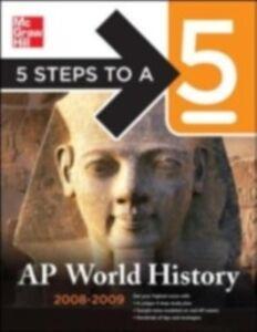 Foto Cover di 5 Steps to a 5 AP World History, Ebook inglese di Peggy J. Martin, edito da McGraw-Hill Education