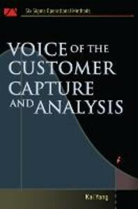 Voice of the Customer: Capture and Analysis - Kai Yang - cover