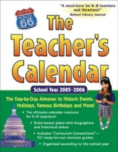 Foto Cover di Teacher's Calendar School Year 2005-2006, Ebook inglese di Editors of Chase's, edito da McGraw-Hill Education