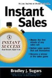 Instant Sales - Bradley J. Sugars - cover