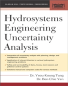 Ebook in inglese Hydrosystems Engineering Uncertainty Analysis Tung, Yeou-Koung , Yen, Ben-Chie