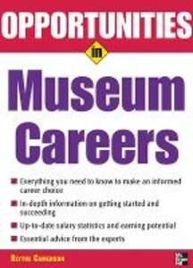 Opportunities in Museum Careers - Blythe Camenson - cover