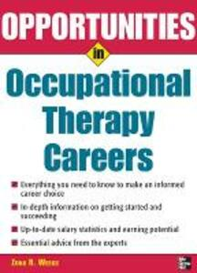 Opportunities in Occupational Therapy Careers - Zona Weeks - cover