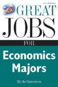 Great Jobs for Economics Majors - Blythe Camenson - cover
