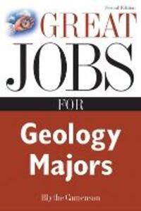 Great Jobs for Geology Majors - Blythe Camenson - cover