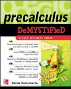 Ebook in inglese Pre-Calculus Demystified Huettenmueller, Rhonda