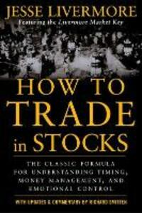 How to Trade In Stocks - Jesse Livermore - cover