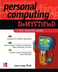 Foto Cover di Personal Computing Demystified, Ebook inglese di Larry Long, edito da McGraw-Hill Education