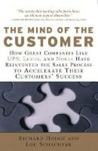 The Mind of the Customer - Richard Hodge,Lou Schachter - cover