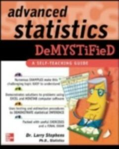 Ebook in inglese Advanced Statistics Demystified Stephens, Larry