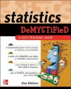 Ebook in inglese Statistics Demystified Gibilisco, Stan