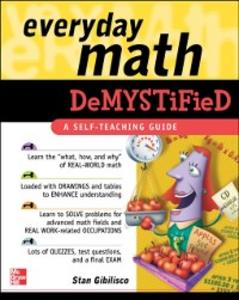 Ebook in inglese Everyday Math Demystified Gibilisco, Stan