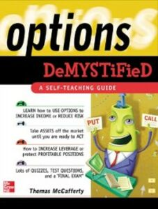 Foto Cover di Options Demystified, Ebook inglese di Thomas McCafferty, edito da McGraw-Hill Education