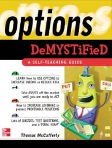 Ebook in inglese Options Demystified McCafferty, Thomas
