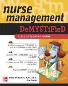 Nurse Management Demystified - Irene McEachen,Jim Keogh - cover