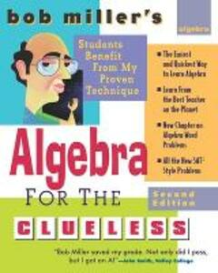 Bob Miller's Algebra for the Clueless - Bob Miller - cover