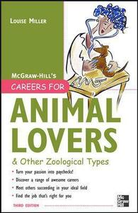 Careers for Animal Lovers - Louise Miller - cover